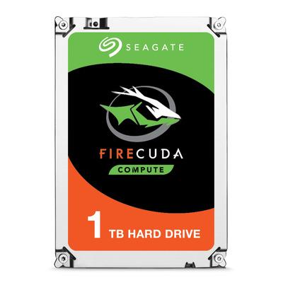 """Seagate interne harde schijf: FireCuda 1 TB, SATA III, 8.89 cm (3.5 """") , 8.5 ms, 6.0/3.0/1.5 Gb/s"""
