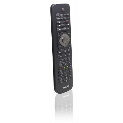 Philips afstandsbediening: Perfect replacement Universele afstandsbediening SRP5018/10 - Zwart