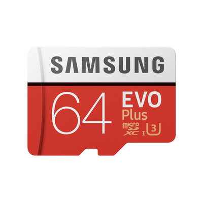 Samsung MB-MC64G Flashgeheugen - Rood,Wit