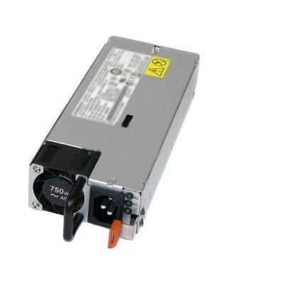 Lenovo System x 750W High Efficiency Platinum AC Power Supply Power supply unit - Zwart,Zilver