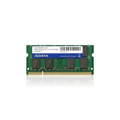 ADATA AD2S800B2G6-2 RAM-geheugen