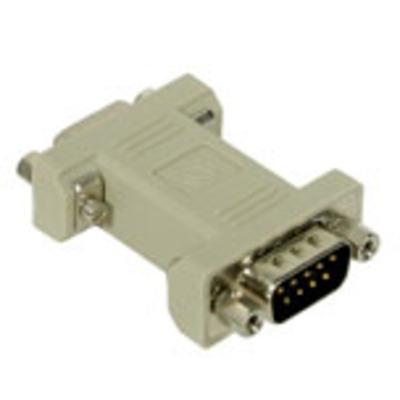 C2G DB9 Modem Adapter Kabel adapter - Grijs