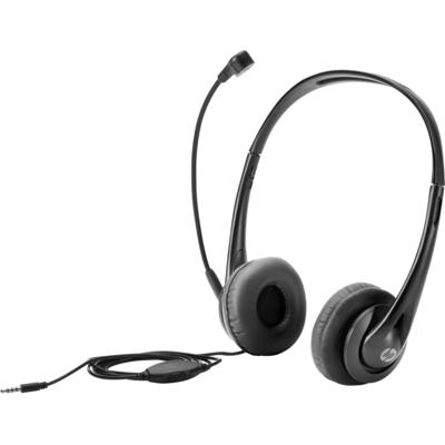 HP Stereo 3.5mm Headset - Zwart