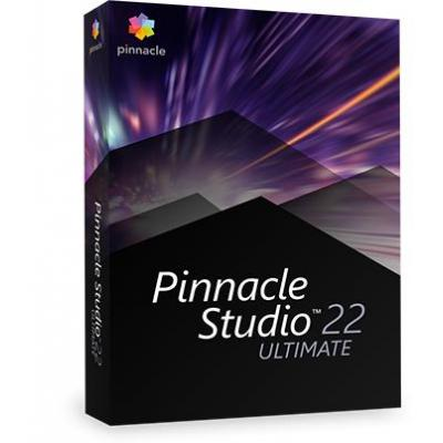 Corel videosoftware: Pinnacle Studio 22 Ultimate