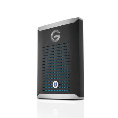 G-Technology G-DRIVE Mobile Pro SSD - Zwart, Zilver