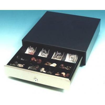 International cash drawer geldkistlade: 3S-423 - Zwart