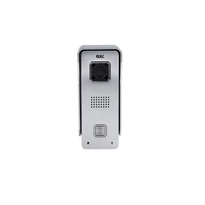 Alecto deurbel: WiFi Deurbel met Camera, IP64 - Zilver