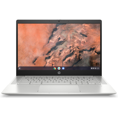 HP Chromebook Pro c645 Laptop - Aluminium,Zilver