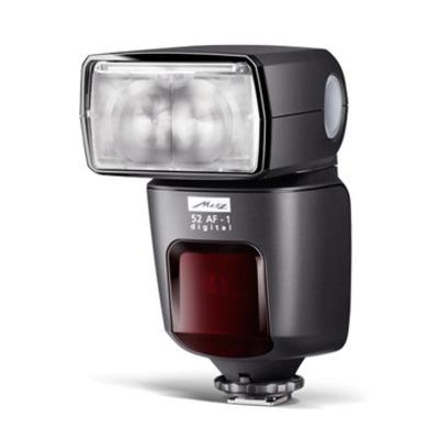 Metz camera flitser: mecablitz 52 AF-1 digital / Olympus/Panasonic/Leica - Zwart
