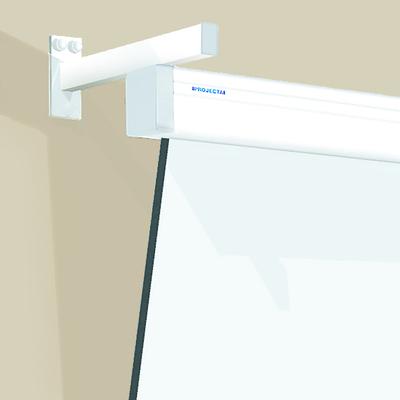 Projecta Wandbeugel SlimScreen 57 cm zwart RAL 7021 Montagekit