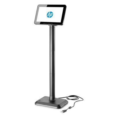 Hp paal display: LCD klantendisplay - Zwart
