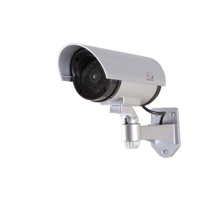 LogiLink Dummy Security Camera with Red Flashing Light, Silver - Zilver