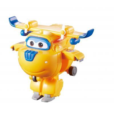 Alpha animation & toys toy vehicle: Super Wings Speelfiguren Transform-A-Bots! Donnie - Blauw, Oranje