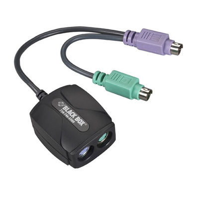 Black Box PS/2 Keyboard and Mouse GHOST Emulator PS2 kabel - Zwart
