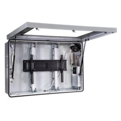 "Peerless Indoor/Outdoor Protective Enclosure with Cooling Fans for 52""-55"" Flat Panel Displays Montagehaak ....."