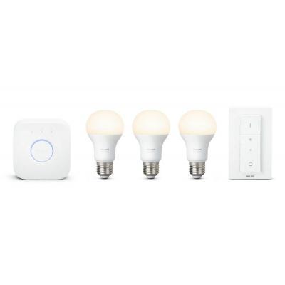 Philips personal wireless lighting: hue Automatiseer uw lampen - Wit