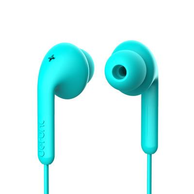 DEFUNC Basic Music Headset - Cyaan