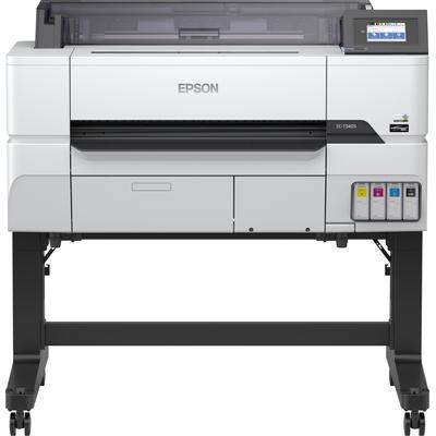 Epson SureColor SC-T3405 - wireless printer (with stand) Grootformaat printer - Zwart Pigment,Cyaan Pigment,Geel .....