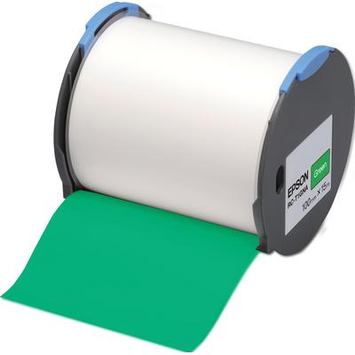 Epson RC-T1GNA Etiket - Groen