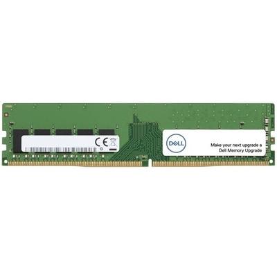 Dell RAM-geheugen: 8 GB gecertificeerde, geheugenmodule — 1RX8 DDR4 RDIMM 2400MHz - Groen