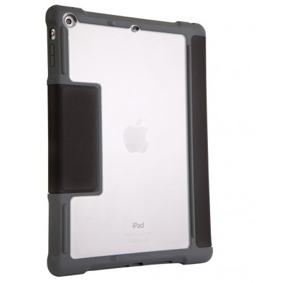 STM dux Tablet case - Zwart, Transparant