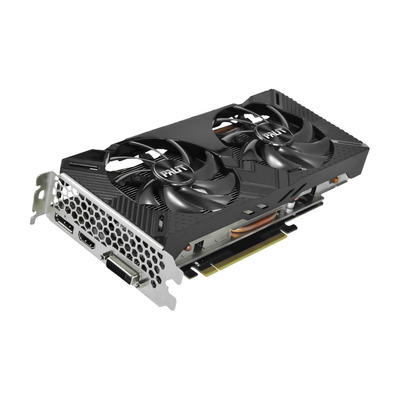 Palit GeForce GTX 1660 Dual Videokaart - Zwart