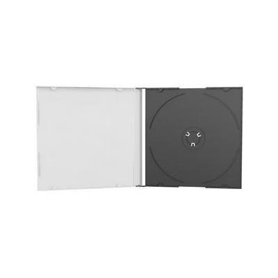 Mediarange : BOX21 (100 stuks) - Zwart, Transparant