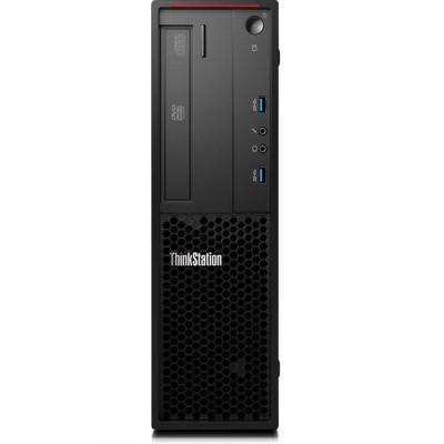 Lenovo pc: ThinkStation P300 - Zwart