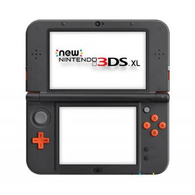 Nintendo portable game console: New 3DS XL - Zwart, Oranje