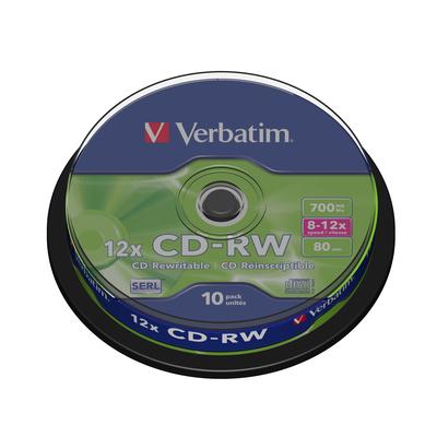 Verbatim CD: CD-RW 12x