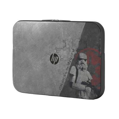 Hp laptoptas: Star Wars SE Sleeve - Zwart, Grijs
