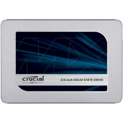 Crucial SSD: MX500 - Zilver