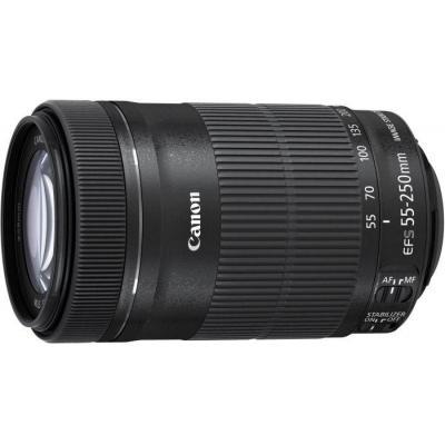 Canon camera lens: EF-S 55-250mm f/4-5.6 IS STM - Zwart