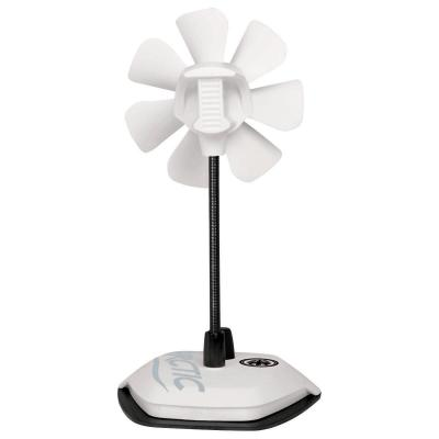 Arctic : Breeze Country USB Table Fan - Zwart, Grijs, Rood, Wit, Geel