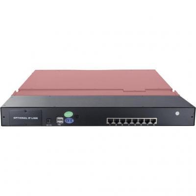 Inter-Tech 99997227 - QWERTY Rack console - Zwart