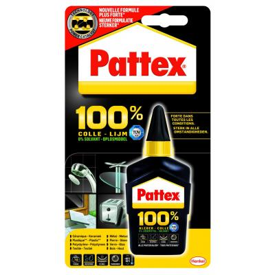 Pattex lijm: 100% lijm, 50 g - Zwart