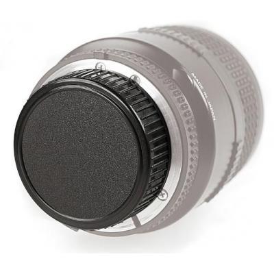 Kaiser lensdop: Rear Lens Cap for Nikon - Zwart