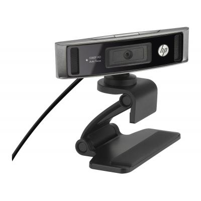 Hp webcam: HD 4310 - Zwart