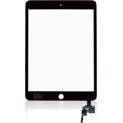 Microspareparts mobile : iPad Mini 3 Touch Assem. Black - Zwart