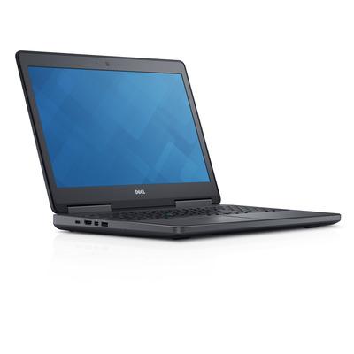 DELL laptop: Precision 7520 - Zwart
