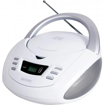 Denver CD-R/CD-RW, MP3, AUX in, USB, 2 x 1W