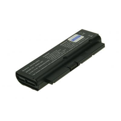 2-power batterij: CBI3022A - Li-Ion, 2600mAh, 14.4 V, 4 cell, 207g, black - Zwart