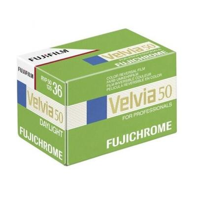 Fujifilm kleurenfilm: Velvia 50