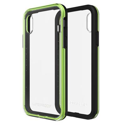 LifeProof SLΛM Mobile phone case - Zwart,Groen,Transparant