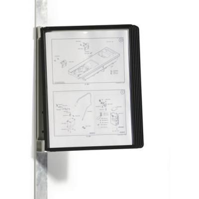 Durable ordner: Vario Magnet Wall 5 - Zwart