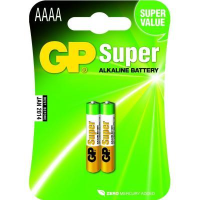 Gp batteries batterij: Super Alkaline AAAA - Multi kleuren