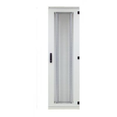 EFB Elektronik Door for Standard Cabinet 42U, W=600, Steel Perf., 1-Part, RAL7035, 3-Pt.-Lock Rack .....