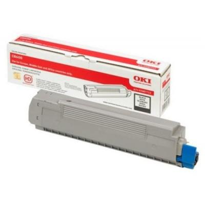 OKI cartridge: Black Toner Cartridge for C8600