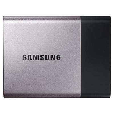 Samsung SSD: Portable T3 250GB - Zwart, Zilver