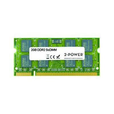 2-power RAM-geheugen: 2GB DDR2 800MHz SoDIMM